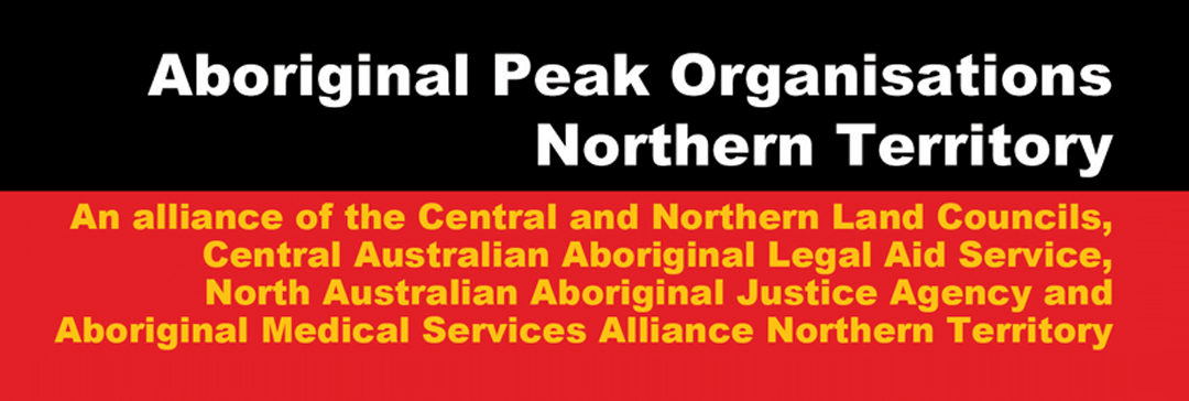Aboriginal Peak Organisations Northern Territory—APO NT
